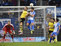 Europa-League-Starter Borussia Dortmund empfängt die TSG Hoffenheim zum Rückspiel in der Bundesliga an einem Sonntag.