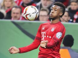 Hat beim FC Bayern stark eingeschlagen: Der 19-jährige Flügelflitzer Kingsley Coman.