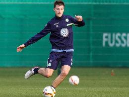 Ein Kandidat für Gladbach: Abwehrspieler Robin Knoche vom VfL Wolfsburg.