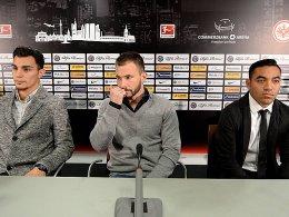 Eintracht stellt Ayhan, Huszti und Fabian vor