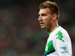 Wolfsburgs Nicklas Bendtner