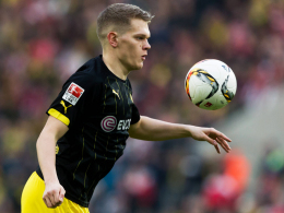 Ärgert sich über zu viele Konter-Gegentore: Borussia Dortmunds Shootingstar Matthias Ginter.