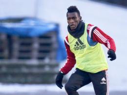 """""""Der Junge hat einen guten Eindruck hinterlassen"""": HSV-Trainer Bruno Labbadia lobte Trainingsgast Bakery Jatta."""