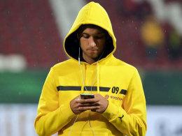 Wartete immer geduldig auf seine Chance, was sich nun auszahlen könnte: Dortmunds Moritz Leitner.