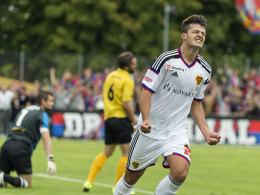 Will in Augsburg den nächsten Schritt in seiner Entwicklung gehen: Angreifer Albian Ajeti kommt aus Basel.