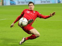 In fantastischer Verfassung: Bayern-Angreifer Robert Lewandowski ist Polens Sportler des Jahres 2015.