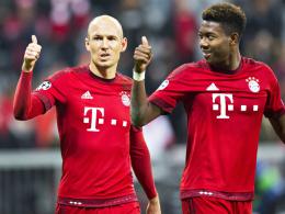 Robben und Alaba sind wieder im Bayern-Training