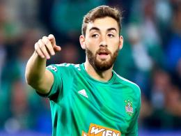 Steigt im Sommer bei Werder ein: Thanos Petsos wechselt von Rapid Wien nach Bremen.