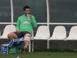 Bargfrede und Pizarro fallen aus