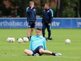 Was hat das Trainerteam noch mit ihm vor: Alexander Baumjohann will mehr spielen.