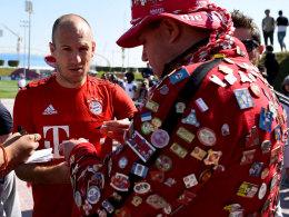 Will 2016 wieder angreifen: Bayern-Mittelfeldspieler Arjen Robben.