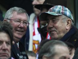 Männerfreundschaft: Eckhard Krautzun und Sir Alex Ferguson.