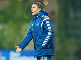 HSV verliert erneut, Labbadia ist sauer