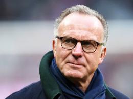 Hat keine Liste mit den Sommereinkäufen von Carlo Ancelotti bekommen: Bayern Münchens Vorstandschef Karl-Heinz Rummenigge.