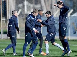Den inneren Schweinehund überwinden: Der SV Darmstadt kam in der Türkei mächtig ins Schwitzen.