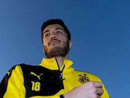Dortmunds Mittelfeldspieler Nuri Sahin.
