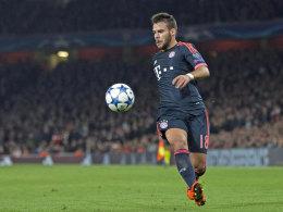Bayerns Linksverteidiger Juan Bernat.