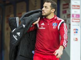 Packt seine Sachen und verlässt den Hamburger SV: Marcelo Diaz.
