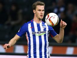 Droht gegen den Ex-Klub Augsburg auszufallen: Herthas Abwehrchef Sebastian Langkamp.