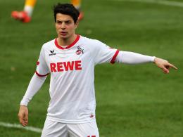 Hat sich einiges vorgenommen für die Rückrunde: Kölns geliehener Stürmer Philipp Hosiner.