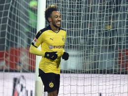 Doppelpacker in Essen: Pierre-Emerick Aubameyang.