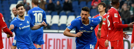Matchwinner für Darmstadt: Wagner traf in Hannover doppelt.