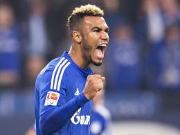Will ans Ende der Hinrunde anknüpfen: Schalkes Angreifer Eric Maxim Choupo-Moting.