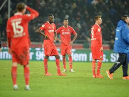 Hannover startete gut und stand am Ende mit leeren Händen da: 1:2 gegen Darmstadt.