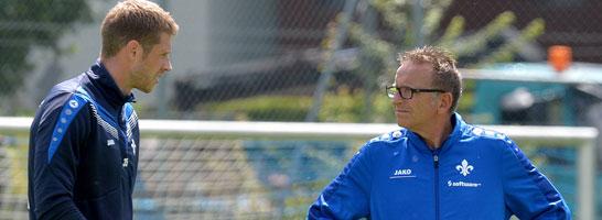 Slobodan Rajkovic will weg - Trainer Norbert Meier ist das gar nicht recht.