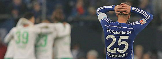 Schalkes Angreifer Klaas Jan Huntelaar
