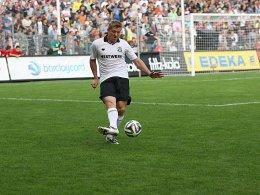 Er kann noch immer mit dem Ball umgehen: Marko Rehmer.