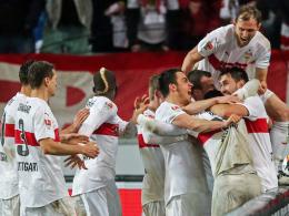 Jubel VfB Stuttgart