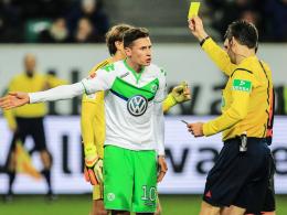 Bereits viermal verwarnt: Sieht Wolfsburgs Julian Draxler gegen Köln Gelb, ist er gegen Ex-Klub Schalke gesperrt.