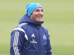 """""""Blauäugig bin ich, das ist Fakt"""": Hamburgs Chefcoach Bruno Labbadia ist keineswegs humorfrei."""