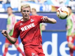 Soll heute oder morgen wieder ins Training einsteigen: Kölns Frederik Sörensen.