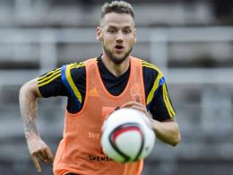 Ihm winkt bei Hannover 96 sofort ein Platz in der Stammformation: dem Schweden Alexander Milosevic.