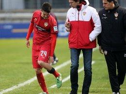 Riesenpech f�r VfB-Neuzugang Barba