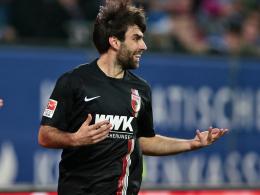 Europa League: Vier Neue im FCA-Kader