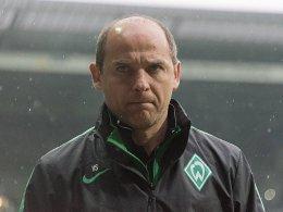 Werder-Coach Skripnik muss improvisieren