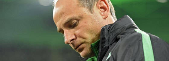 Erkannte die Gladbacher Überlegenheit an: Bremens Trainer Viktor Skripnik.