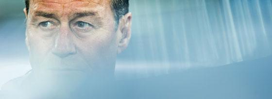 Hoffenheims Trainer Huub Stevens