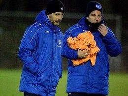 Coach Schuster und Franz:
