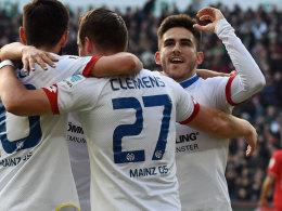 Der Mainzer Jairo avancierte in Hannover zum Matchwinner.