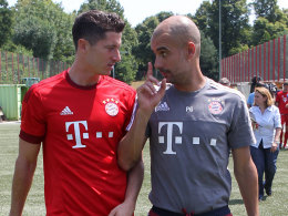 Guardiola lobt Lewandowskis Lebenswandel