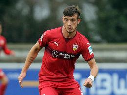 Tashchy erh�lt Profivertrag beim VfB