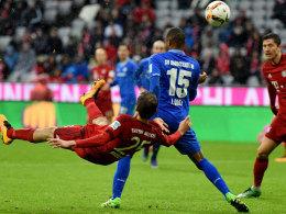Der FC Bayern kann sich gegen Darmstadt bei Doppelpacker Müller bedanken.