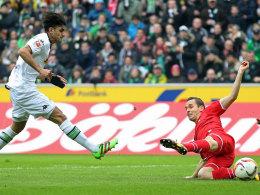 Dahoud trifft zum Siegtreffer für Gladbach gegen Köln.
