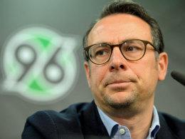 Hannovers Sportvorstand Martin Bader