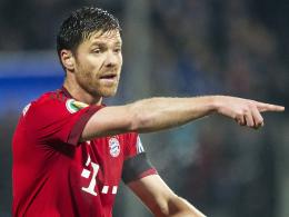 Matchwinner beim letzten Duell mit Darmstadt: Bayern Münchens Mittelfeldantreiber Xabi Alonso.