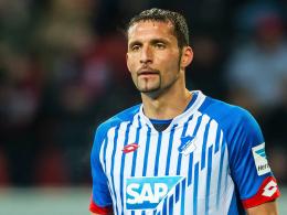 """Ich kämpfe um meine Chance"": Hoffenheims Angreifer Kevin Kuranyi."